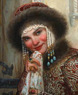 Андрей Шишкин - картина №393 Молодая княжна