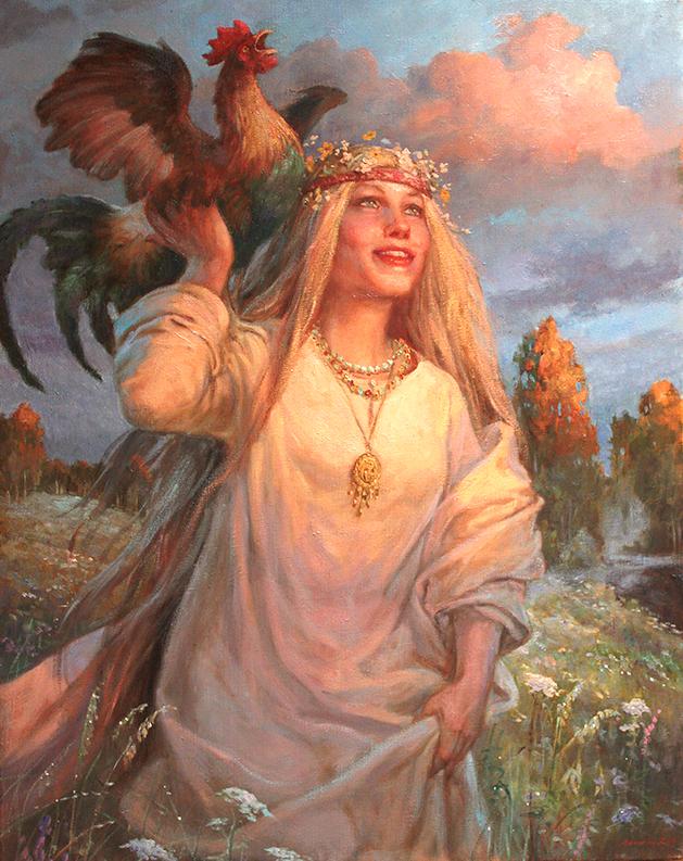 тени наносятся славянская богиня лада фото этого